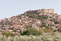 Molivos, Lesbos Island, Greece
