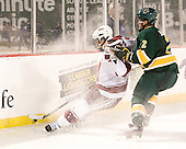 Rocco Carzo (UMass - 12), Drew MacKenzie (Vermont - 2) - The University of Massachusetts (Amherst) Minutemen defeated the University of Vermont Catamounts 3-2 in overtime on Saturday, January 7, 2012, at Fenway Park in Boston, Massachusetts.