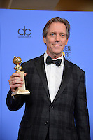 Hugh Laurie at the 74th Golden Globe Awards  at The Beverly Hilton Hotel, Los Angeles USA 8th January  2017<br /> Picture: Paul Smith/Featureflash/SilverHub 0208 004 5359 sales@silverhubmedia.com