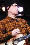 Louie Perez of Los Lobos, live concert Spring Grüv, Canyons Resort, Park City, Utah
