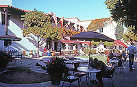 Santa Barbara CA: El Paseo--Patio Restaurant,  1922-23. James Osborne Craig, Mary Craig & Carleton M. Winslow. Photo 1983.