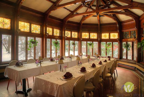 Belhurst Castle And Inn Seneca Lake Ny Solarium Dining Room