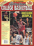 TSN 1992-93 College Basketball Yearbook front cover.