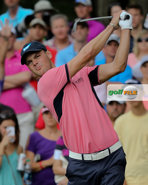 11 MAY 14 Martin Kaymer driving on the 12th hole at Sunday's Final Round at The Players Championship at The TPC at Sawgrass in Ponte Vedra Beach, Florida. (photo credit : kenneth e. dennis/kendennisphoto.com)