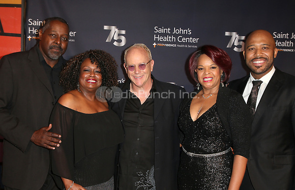 CULVER CITY, CA - OCTOBER 21: Boise Holmes, Michael Shepperd, Tracy Nicole Chapman, Yvette Cason, Randy Johnson, of Shout Sister Shout, at Providence Saint John's 75th Anniversary Gala Celebration at 3Labs in Culver City, California on October 21, 2017. Credit: Faye Sadou/MediaPunch
