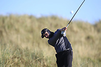 Jack Shellard (Lisburn) on the 11th tee during Round 3 of the Ulster Boys Championship at Royal Portrush Golf Club, Valley Links, Portrush, Co. Antrim on Thursday 1st Nov 2018.<br /> Picture:  Thos Caffrey / www.golffile.ie<br /> <br /> All photo usage must carry mandatory copyright credit (&copy; Golffile | Thos Caffrey)
