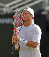 Netherlands, Rosmalen , June 08, 2015, Tennis, Topshelf Open, Autotron, Lleyton Hewitt (AUS)<br /> Photo: Tennisimages/Henk Koster