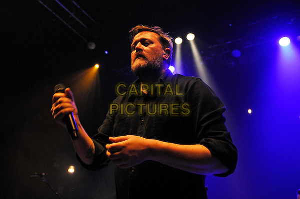 LONDON, ENGLAND - DECEMBER 2: Guy Garvey performing at Shepherd's Bush Empire on December 2, 2015 in London, England.<br /> CAP/MAR<br /> &copy; Martin Harris/Capital Pictures