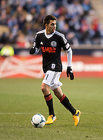 Michael Farfan.  Sporting Kansas City defeated Philadelphia Union, 3-1. at PPL Park in Chester, PA.