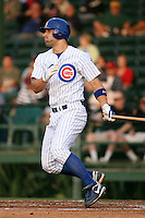 April 16, 2009:  First baseman Russ Canzler of the Daytona Cubs, Florida State League Class-A affiliate of the Chicago Cubs, during a game at Jackie Robinson Stadium in Daytona Beach, FL.  Photo by:  Mike Janes/Four Seam Images