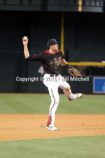 Nick Ahmed - 2016 Arizona Diamondbacks (Bill Mitchell)