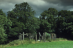 Quinta Stonehenge Nr Weston Rhyn Shropshire England. Mysterious Britain published by Orion