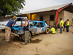 Repairing a derby car between rounds, Destruction Derby climax and ending on Sunday at the 80th Amador County Fair, Plymouth, Calif.<br /> .<br /> .<br /> .<br /> .<br /> #AmadorCountyFair, #1SmallCountyFair, #PlymouthCalifornia, #TourAmador, #VisitAmador