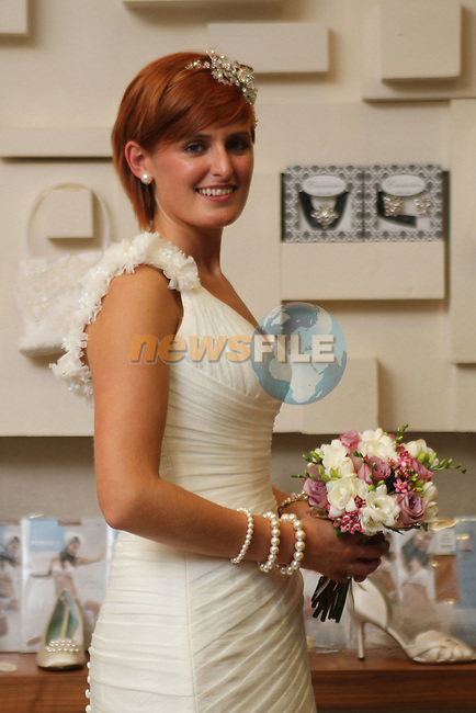 Rebecca Sexton at the City North Wedding Fair...Picture Jenny Matthews/Newsfile.ie