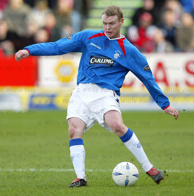 Michael Ball, Rangers.Stock Season 2003-2004.pic willie vass