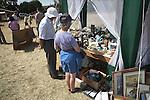 Bric a brac stall, Butley Flower Show village fete, Butley, Suffolk, England