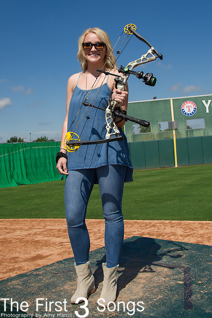 Jamie Lynn Spears attends the ACM & Cabela's Great Outdoor Archery Event during the 50th Academy Of Country Music Awards at the Texas Rangers Youth Ballpark on April 18, 2015 in Arlington, Texas.