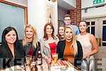 Amy Scanlon, Listowel celebrating her birthday with family & friends at Casa Mia Restaurant, Listowel on Saturday night last. L-R : Sinead Keane, Amy Browne, Patricia, Katie  Amy Scanlon, Padrag McGuire & Tara O'Sullivan.