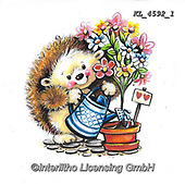 CUTE ANIMALS, LUSTIGE TIERE, ANIMALITOS DIVERTIDOS, paintings+++++,KL4592/1,#ac#, EVERYDAY