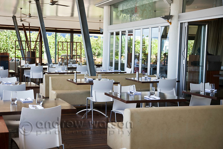 North Food and Wine at Shangri-La Hotel.  The Pier, Cairns, Queensland, Australia