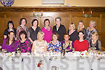 Party Time: Abbeyfeale Badminton Club enjoying their Christmas party last Thursday night in Leen's Hotel, Abbeyfeale, b l-r Caroline Doody, Le Collins, Marie Gleeson, Mary Bowen, Eilleen O'Brien, Maura Kennedy, Annette O'Leary, Lesley Collins. f l-r Ali Burnard, Barbara Scannell, Mary Sugrue, Betty O'Sullivan, Mary Browne McCarthy, Jane Dwyer, Julia O'Connell.