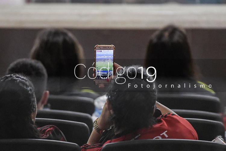 Rio de Janeiro (RJ), 03/02/2020 - Resende-Flamengo -  Torcida do Flamengo. Partida entre Resende e Flamengo, valida pela quinta  rodada da Taca Guanabara, realizada no Estadio Jornalista Mario Filho (Maracana), na zona norte do Rio de Janeiro, nesta segunda-feira (03). (Foto: Andre Fabiano/Codigo 19/Codigo 19)