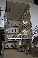 Fermentation tanks. Gratien & Meyer, Saumur, Loire, France