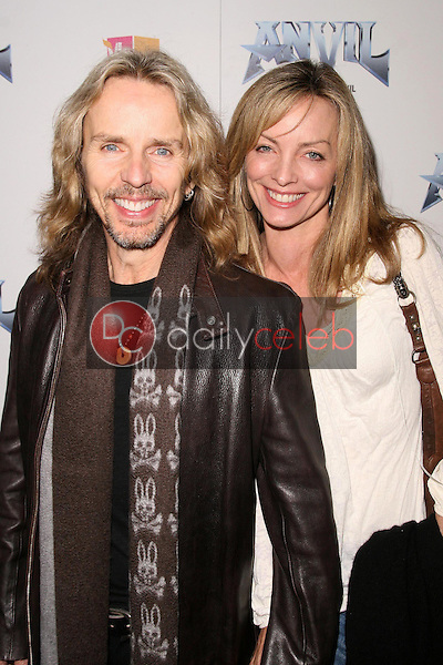Tommy Shaw and wife Jeanne<br />at the Los Angeles Premiere of 'Anvil! The Story of Anvil'. The Egyptian Theatre, Hollywood, CA. 04-07-09<br />Dave Edwards/DailyCeleb.com 818-249-4998