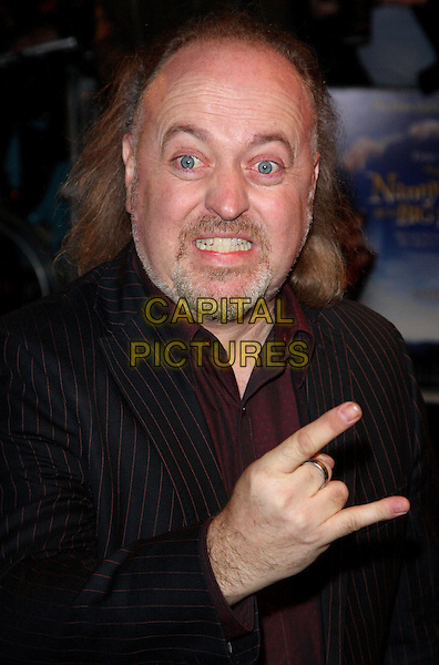 BILL BAILEY.World Premiere of 'Nanny McPhee and the Big Bang' at the Odeon West End, Leicester Square, London, England..March 24th 2010.headshot portrait black suit jacket goatee facial hair hand gesture silver ring funny face.CAP/ROS.©Steve Ross/Capital Pictures.
