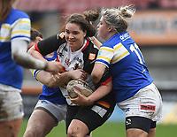 Picture by Anna Gowthorpe/SWpix.com - 15/04/2018 - Rugby League - Womens Super League - Bradford Bulls v Leeds Rhinos - Coral Windows Stadium, Bradford, England - Bradford Bulls' Debbie Smith