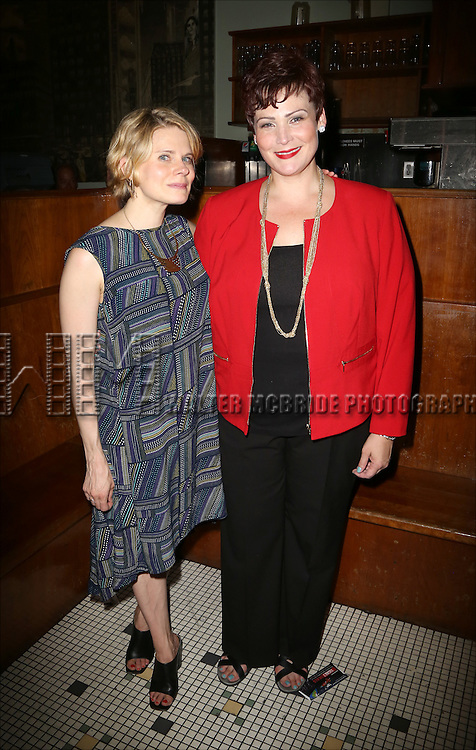 Celia Keenan-Bolger and Lisa Howard attends the After Party for the One Night Only 10th Anniversary Concert of 'The 25th Annual Putnam County Spelling Bee' at Town Hall on July 6, 2015 in New York City.
