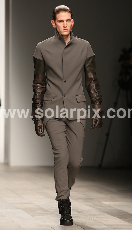 **ALL ROUND PICTURES FROM SOLARPIX.COM**                                             **WORLDWIDE SYNDICATION RIGHTS**                                                                                  The Toddy Lynn collection during London Fashion Week 2011, UK on 21st February, 2011.                                                                    This pic:  Toddy Lynn catwalk                                                                                         JOB REF:     12862   MLW       DATE:    21.02.11                                                       **MUST CREDIT SOLARPIX.COM OR DOUBLE FEE WILL BE CHARGED**                                                                      **MUST AGREE FEE BEFORE ONLINE USAGE**                               **CALL US ON: +34 952 811 768 or LOW RATE FROM UK 0844 617 7637**