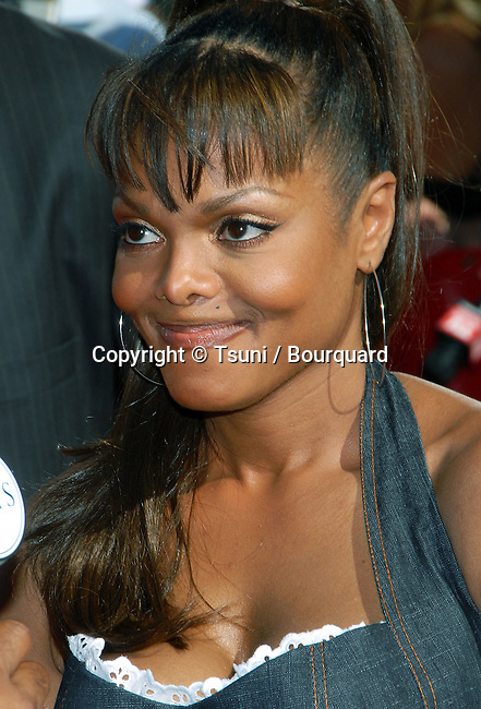 Janet Jackson arriving at the ESPY Awards at the Kodak Theatre  In Los Angeles. July 12,  2006.<br /> head shot