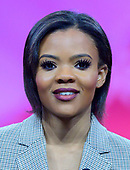 Candace Owens of Turning Point USA speaks at the Conservative Political Action Conference (CPAC) at the Gaylord National Resort and Convention Center in National Harbor, Maryland on Friday, March 1, 2019.<br /> Credit: Ron Sachs / CNP