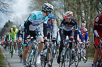 Liege-Bastogne-Liege 2012.98th edition..time for some chitchat according to Andy Schleck