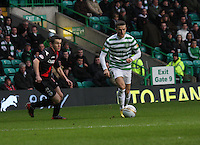 Adam Matthews in the Celtic v St Mirren Clydesdale Bank Scottish Premier League match played at Celtic Park, Glasgow on 15.12.12.