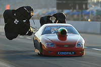 Jul, 9, 2011; Joliet, IL, USA: NHRA pro stock driver Dave River during qualifying for the Route 66 Nationals at Route 66 Raceway. Mandatory Credit: Mark J. Rebilas-