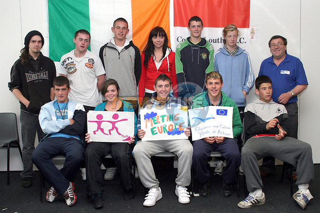 Welcome Youth Participants Attending the Meeting Europe EU Youth in Action Programme in July....Photo NEWSFILE/Jenny Matthews.(Photo credit should read Jenny Matthews/NEWSFILE)....This Picture has been sent you under the condtions enclosed by:.Newsfile Ltd..The Studio,.Millmount Abbey,.Drogheda,.Co Meath..Ireland..Tel: +353(0)41-9871240.Fax: +353(0)41-9871260.GSM: +353(0)86-2500958.email: pictures@newsfile.ie.www.newsfile.ie.FTP: 193.120.102.198.
