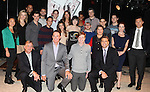 The ensemble cast & Guests attending the 'BARE' celebrates National Coming Out Day at the Snapple Theater Center on October 11, 2012 in New York City.