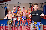 Champion Thai Boxing members Darragh O'Sullivan, Stephen Moroney, Bawel Jurecki, Dylan Vaughan, Hubert Grabczak, David O'Sullivan, Instructor of Champion Thai Boxing, back from Thailand after a successful tour on Monday