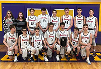 Courtesy Photo <br /> The McDonald County eighth grade boys' basketball team won the Big 8 West tournament with a 31-24 win over Lamar on Feb. 8 at Monett High School.
