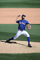 Tom Wilhelmsen - Texas Rangers 2016 spring training (Bill Mitchell)