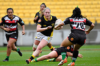 Montana Heslop of Wellington in action during the Farah Palmer Cup - Wellington Pride v Counties Heat at Westpac Stadium, Wellington, New Zealand on Sunday 15 September 2019. <br /> Photo by Masanori Udagawa <br /> www.photowellington.photoshelter.com