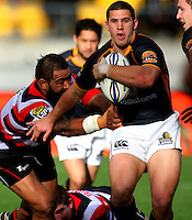 Wellington's Shaun Treeby. ITM Cup - Wellington Lions v Counties-Manukau Steelers at Westpac Stadium, Wellington, New Zealand on Sunday, 8 August 2010. Photo: Dave Lintott/lintottphoto.co.nz.