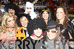 All dressed up for the Fancy Dress New Year's Eve Party held in The Exchange Bar, Ballybunion were front l/r Joseph Reilly, Jody Maguire, Denni Schofield and Donna Jones, back l/r Dave O'Flynn, Paddy Pratt, Eilish Reilly and Aisling Doyle................................................................................................................................................................................................................................................................................ ............