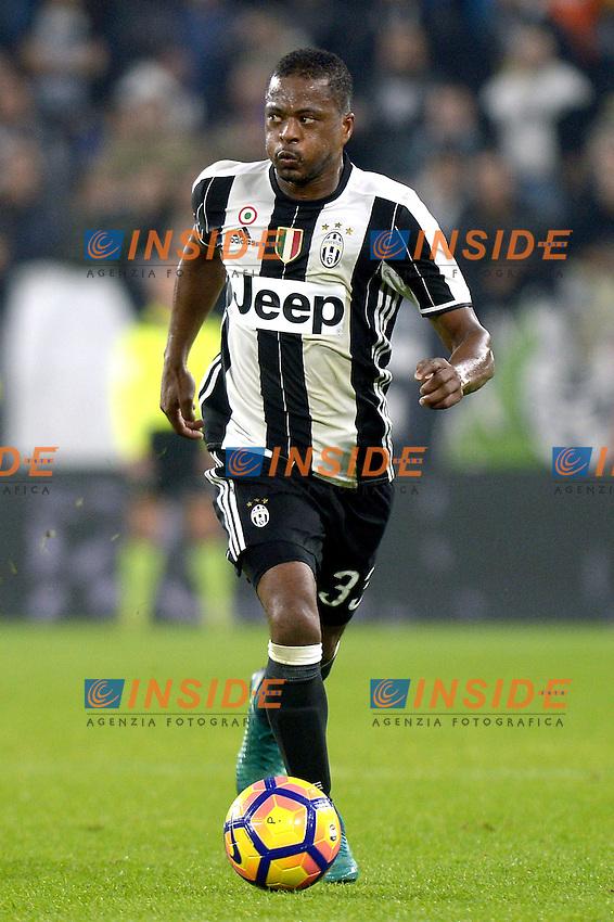 Patrice Evra Juventus,<br /> Torino 26-10-2016, Juventus Stadium, Football Calcio 2016/2017 Serie A, Juventus - Sampdoria, Foto Filippo Alfero/Insidefoto