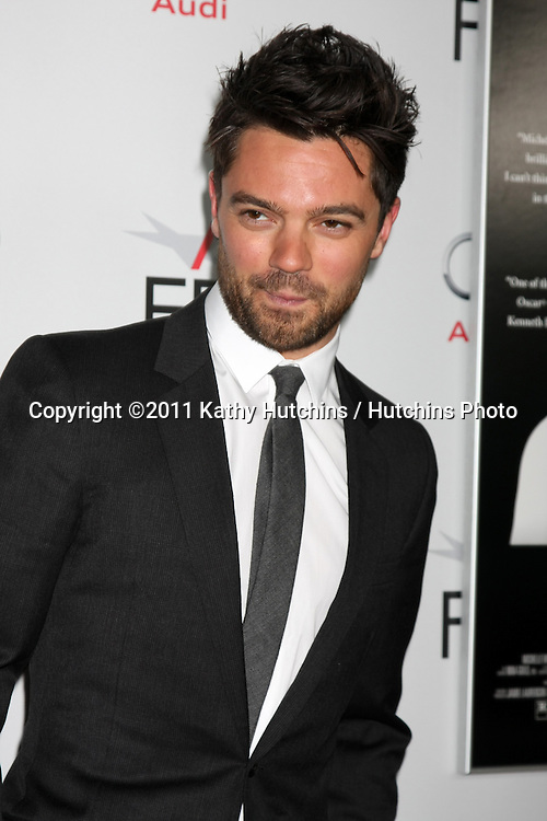 """LOS ANGELES - NOV 6:  Dominic Cooper arrives at the """"My Week with Marilyn"""" Screening at the AFI Fest 2011 at Grauman's Chinese Theater on November 6, 2011 in Los Angeles, CA"""