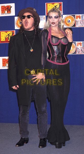 ZUCCHERO & NINA HAGEN.MTV Europe Music Awards.Ref: 1769.funny face.www.capitalpictures.com.sales@capitalpictures.com.© Capital Pictures
