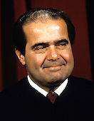 Associate Justice of the United States Supreme Court Antonin G. Scalia poses for a photo during a photo-op at the U.S. Supreme Court in Washington, D.C. on Tuesday, September 11, 1990.  Scalia was appointed in 1986 by U.S. President Ronald Reagan..Credit: Robert Trippett / Pool via CNP