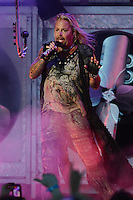 ALBUQUERQUE NM - AUGUST 7:  Vince Neil of Motley Crue performs at the Hard Rock Casino Albuquerque on August 7, 2012 in Albuquerque, New Mexico. Credit: MediaPunch Inc.